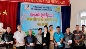 Địa Ốc Minh Trần – Trao quà Tết cho các hoàn cảnh khó khăn quận Liên Chiểu