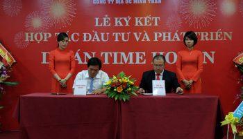 Lễ ký kết hợp tác đầu tư và phát triển dự án Time Hội An